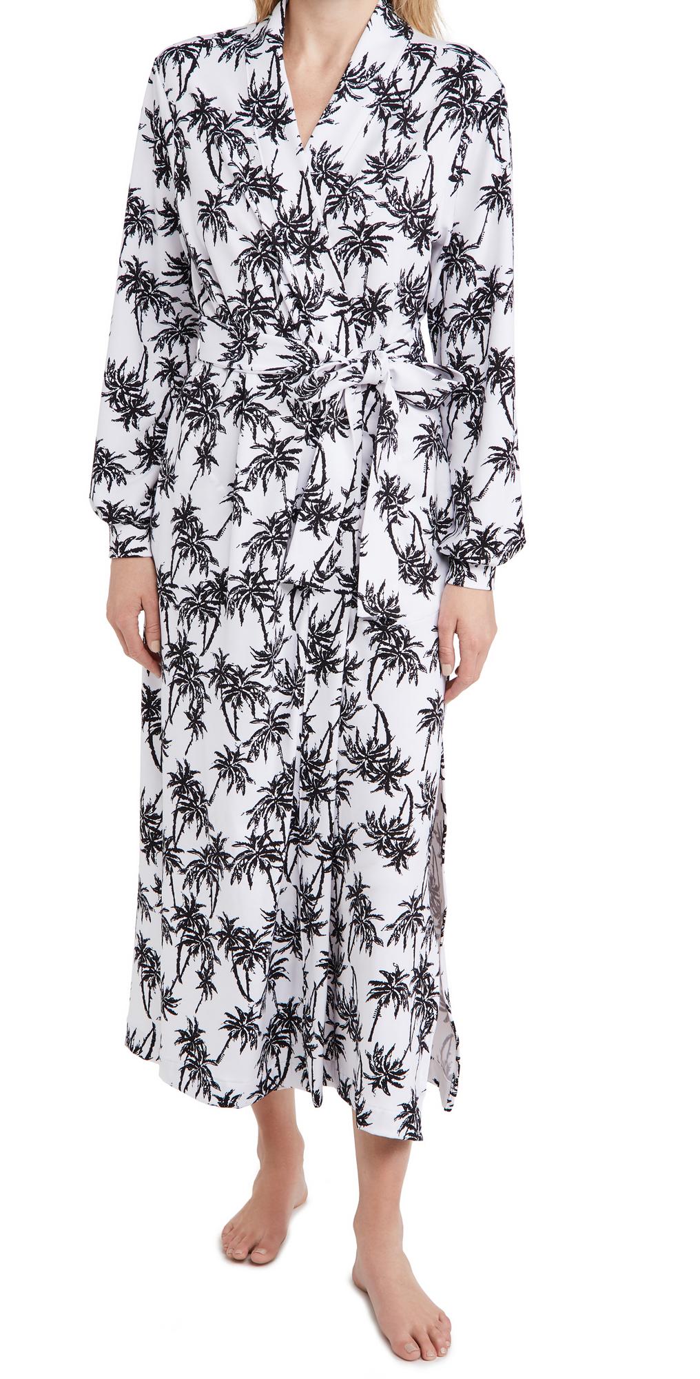 Banded California Dreaming Long Robe