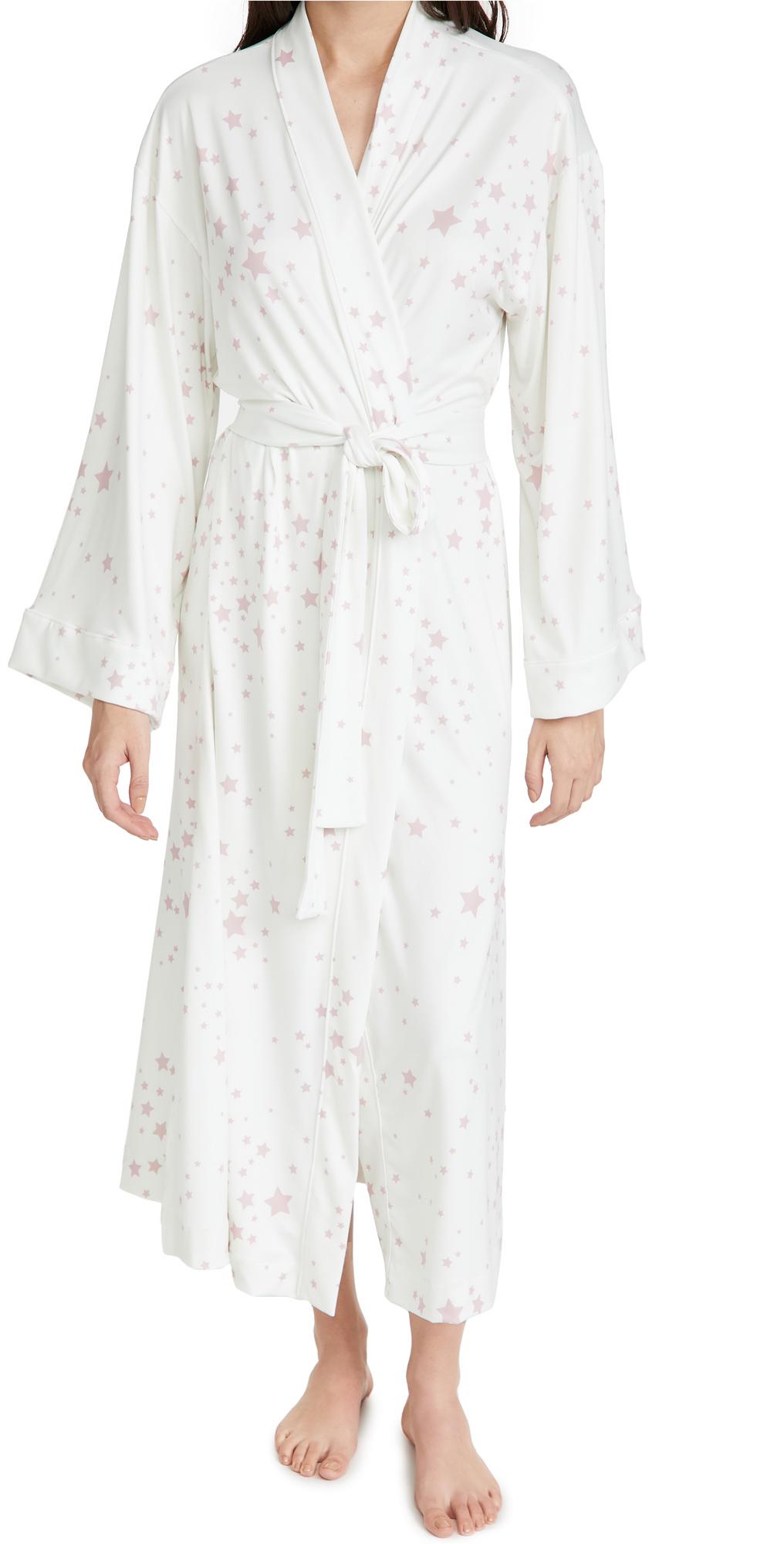 Mason Grey Blush Stars Kimono