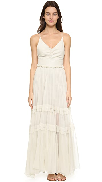 8ac3165349 Maria Lucia Hohan Lace Up Back Gown