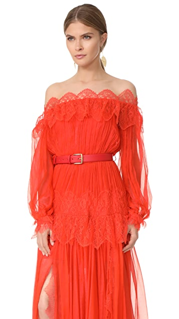 Maria Lucia Hohan Off the Shoulder Dress