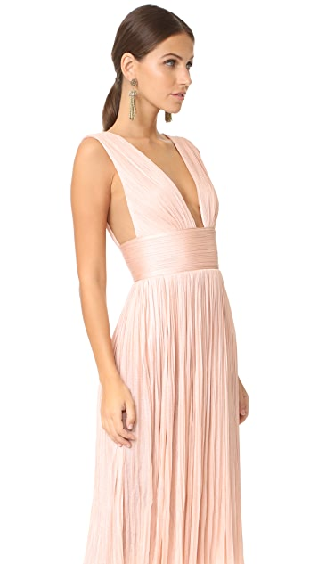 Maria Lucia Hohan Aurora High Slit Dress