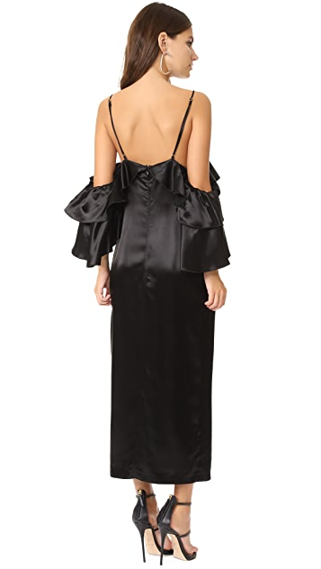 Maria Lucia Hohan Larissa High Slit Dress