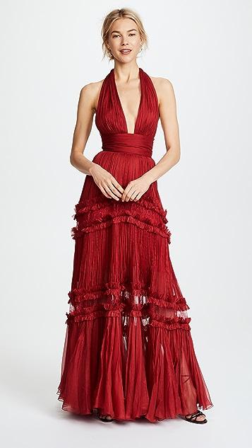 cddafde09640 Maria Lucia Hohan Kalina Tiered Dress