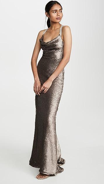 Maria Lucia Hohan Платье с блестками Laure