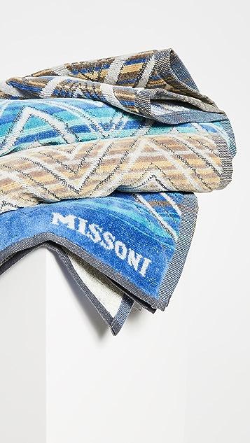 Missoni Home Tolomeo 浴巾