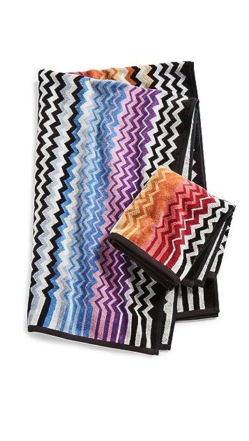 Missoni Home Stan 2 Piece Towel Set