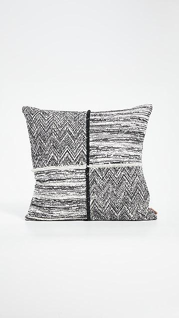 Missoni Home Wattens 拼接坐垫枕头