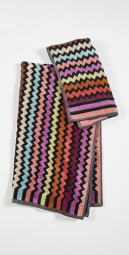 Missoni Home - 159 Warner 2 件装毛巾套装