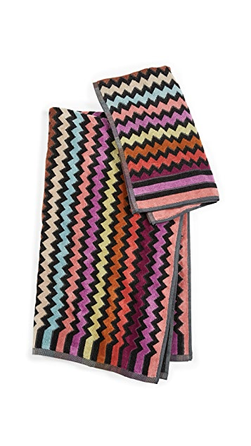 Missoni Home 159 Warner 2 Piece Towel Set