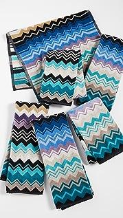 Missoni Home Set of 6 Giacomo Hand Towels