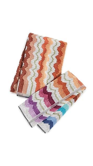 Missoni Home Vasilij Towel 2 Piece Set