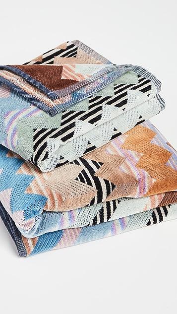 Missoni Home Alfred 2 Piece Towel Set
