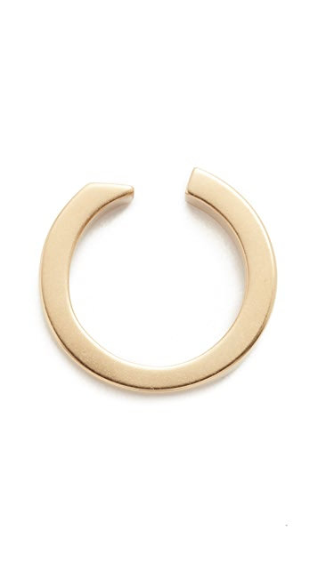 Miansai Gold Plated Ipsum Ring