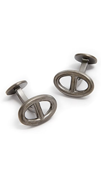 Miansai Chain Link Cufflinks