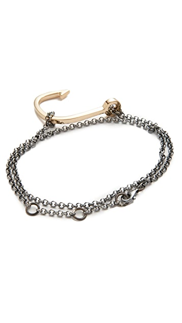 Miansai Hook on Chain Bracelet