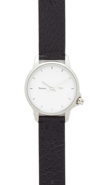 Miansai M24 Leather Watch