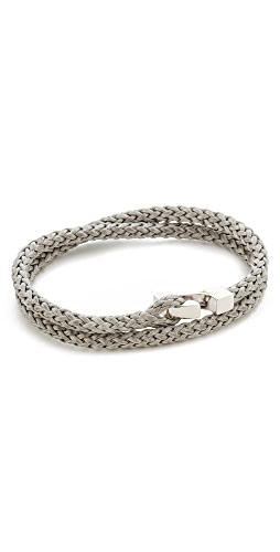 Miansai - Sterling Silver Ipsum Wrap Bracelet