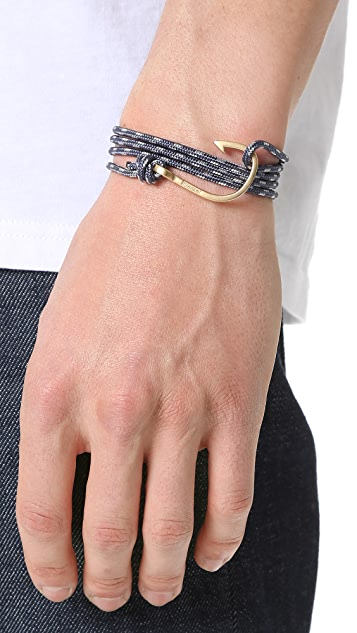 Miansai Hook Rope Wrap Bracelet