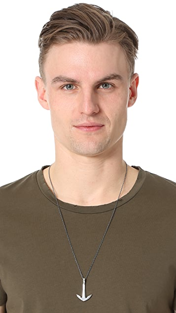 Miansai Anchor Necklace
