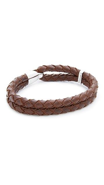 Miansai Beacon Leather Bracelet