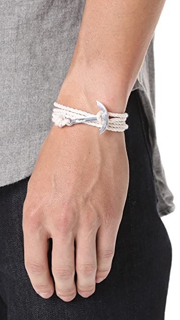 Miansai Modern Anchor Rope Wrap Bracelet