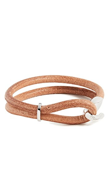 Miansai Beacon Leather Bracelet