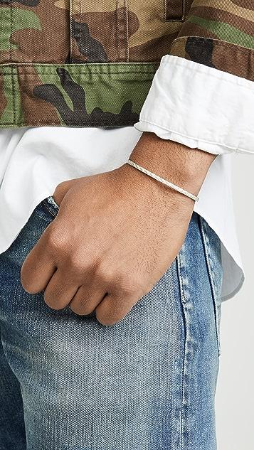 Miansai Nexus Sterling Silver Cable Bracelet