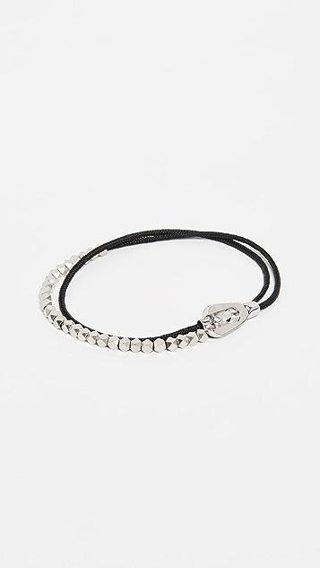 Miansai Centra Rope Bead Bracelet