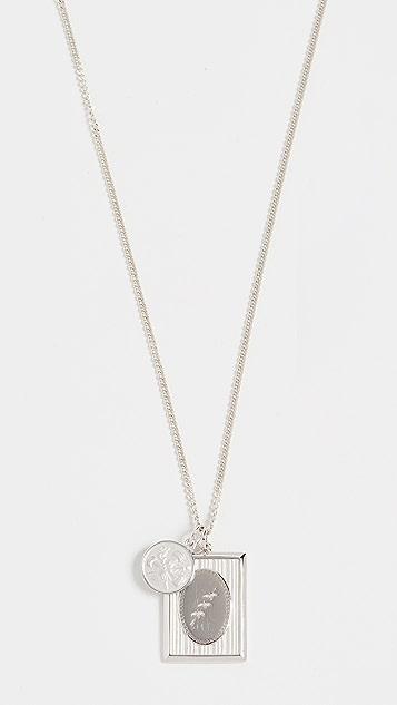 Miansai Bird Frame Pendant Necklace