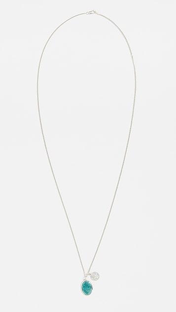 Miansai Mini Dove Pendant Necklace