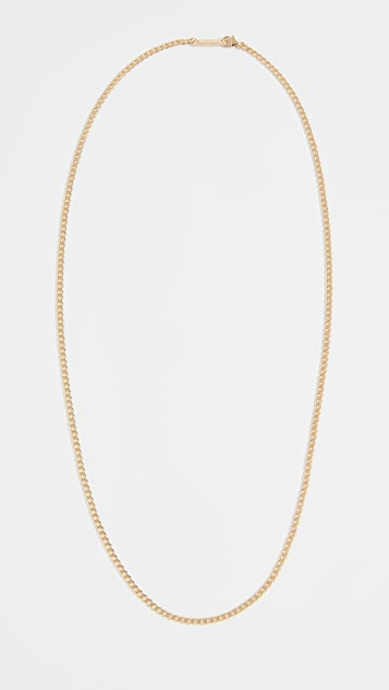 Miansai 3mm Gold Vermeil Chain Necklace