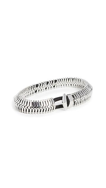 Miansai Klink Sterling Silver Bracelet