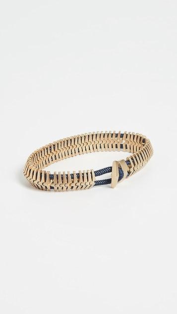 Miansai Klink Matte Brass Bracelet