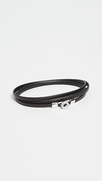 Miansai Nexus Sterling Silver Wrap Bracelet