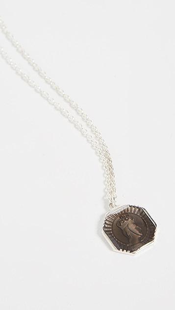 Miansai Faceless King Pendant Necklace