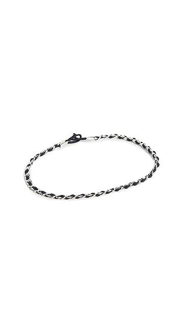 Miansai Sterling Silver Nexus Link Bracelet