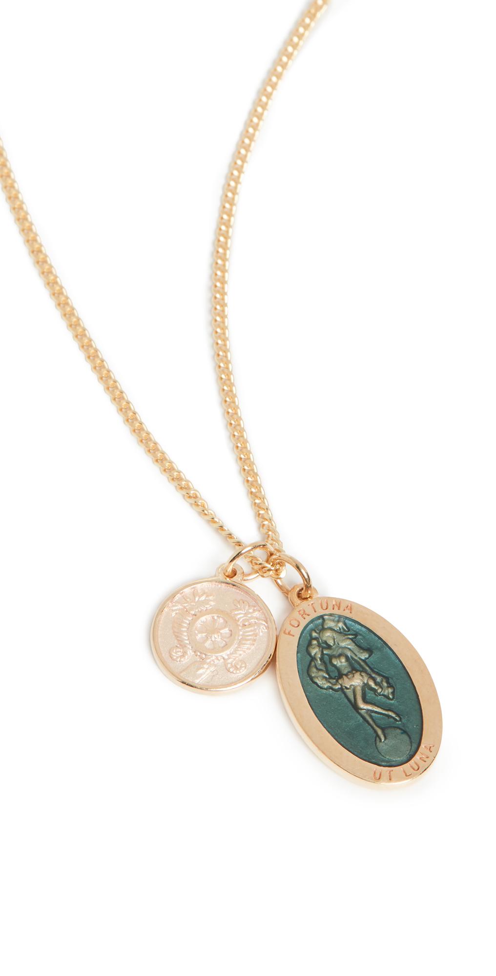 Fortuna Pendant Necklace