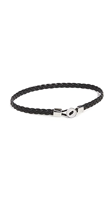 Miansai Nexus Braided Leather Bracelet