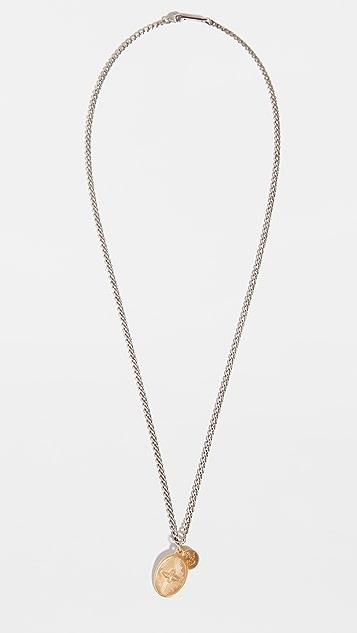 Miansai Dove Pendant Necklace