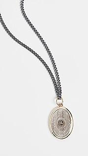 Miansai Argyle Black Diamond Pendant Necklace