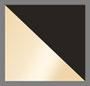 Gold Vermeil/Black