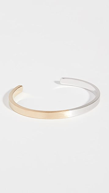 Miansai Singular Two-Tone Cuff