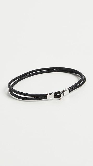Miansai Orson Loop Leather Bracelet