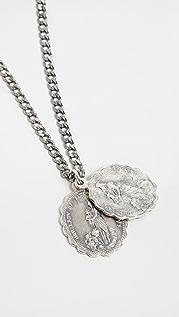 Miansai Sterling Silver Saints Necklace