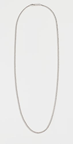 Miansai - 3MM Sterling Silver Cuban Chain Necklace