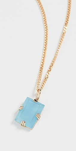 Miansai - Lennox Blue Agate Pendant Necklace