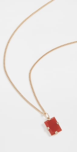 Miansai - Lennox Red Agate Necklace