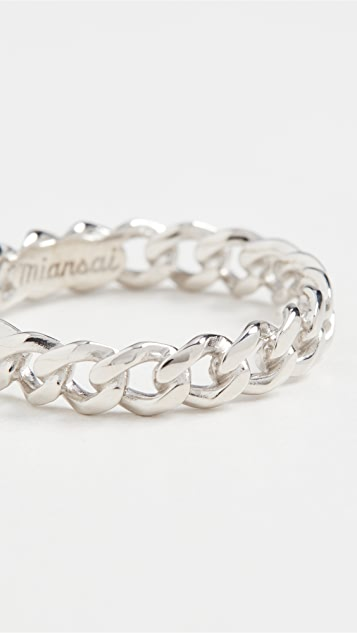 Miansai Cuban Link Ring
