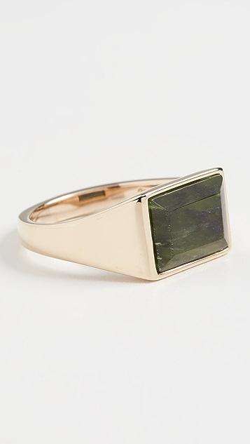 Miansai Lennox Jasper Ring