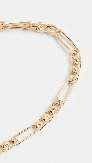 Miansai 3mm Figaro Chain Bracelet